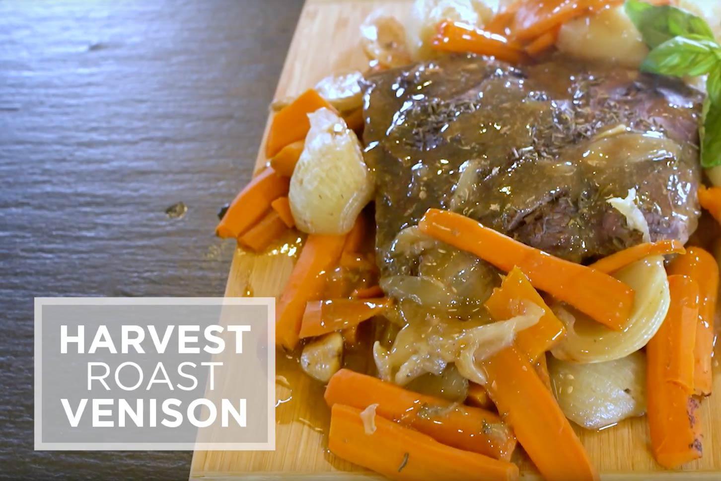 Harvest roast video